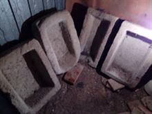 Trogolo mangiatoia in pietra