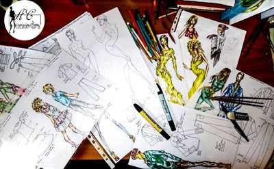 Fashion Designer per collezioni Moda