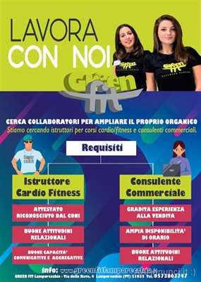 Istruttore per corsi cardio/fitness o consulente commerciale
