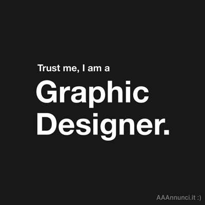 Cerco lavoro come Graphic Designer