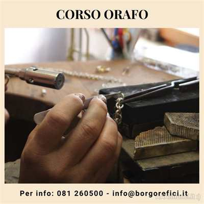 Corso Orafo nel Borgo Orefici - Napoli
